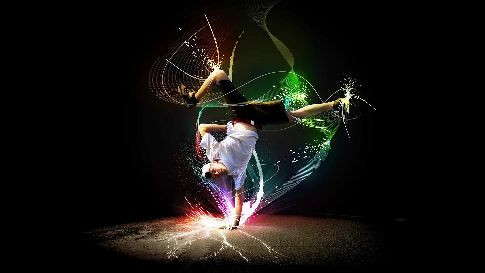 Breakdance Full HD Desktop Wallpapers